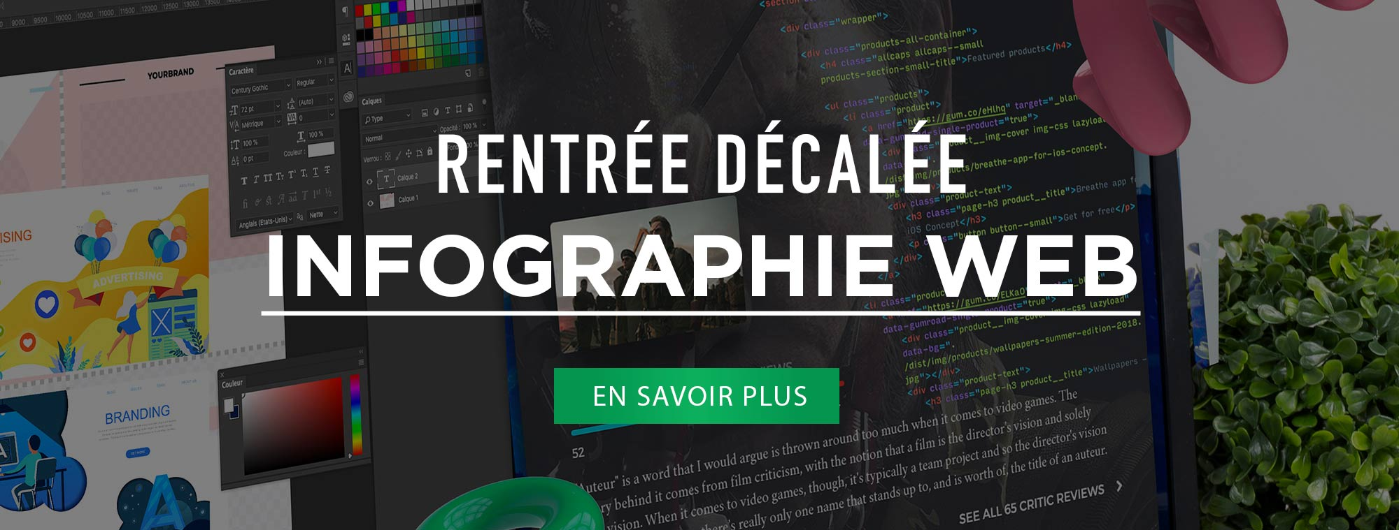 formation infographie web